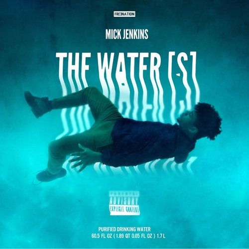 Mick Jenkins - The Waters,  mixtape Cover Art